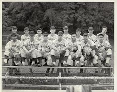 Grand Rapids Junior College's baseball team in 1949.