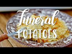 CHURCH LADY FUNERAL POTATOES (+Video) | The Country Cook Baked Potato Casserole, Casserole Recipes, Cabbage Casserole, Funeral Potatoes Recipe, Road Trip Food, 9x13 Baking Dish, Side Dish Recipes, Side Dishes, Homemade Taco Seasoning