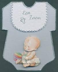 Afbeeldingsresultaat voor 3d geborduurde babykaarten