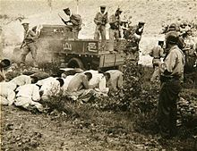Korean War: Bodo League massacre begins: South Korean armed forces and police summarily execute at least 100,000 suspected North Korean sympathizers.  Execution of South Korean political prisoners by the South Korean military and police at Daejeon, South Korea, over several days in July 1950.