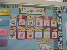 """Students love to share the responsibility in the classroom. Having """"Helping Hands"""" allows them to show how responsible they are. by pathkelly"""