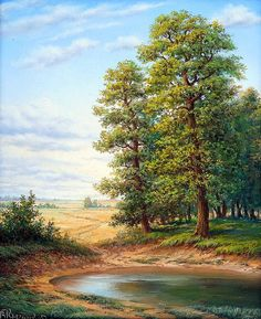 Княгницкий Владимир – Keep up with the times. Nature Paintings, Beautiful Paintings, Beautiful Landscapes, Mountain Landscape, Landscape Art, Landscape Paintings, Scenery Pictures, Nature Pictures, Kinkade Paintings