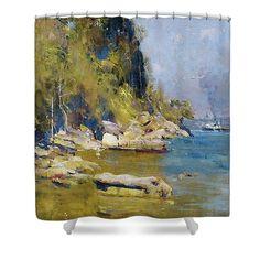 Arthur Streeton Shower Curtain https://art-anthology.pixels.com/collections/australian+art