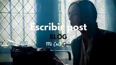 Cómo escribir un post en tu blog: mi (ni) guía personal. #blog #marketing #MO #SM #marketingonline #blogger #wordpress