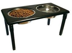 POSTURE-PRO Adjustable Double Diner, Black, 3-Quart Ethical Pet,http://www.amazon.com/dp/B000HHLX2A/ref=cm_sw_r_pi_dp_oXwatb114FBRZZRW