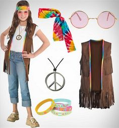 60s Costumes - 1960s Hippie Costumes - Party City