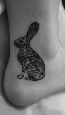 My hare tattoo
