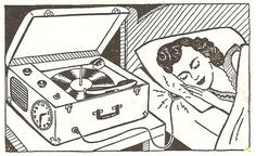 "1950sunlimited: ""Record Love! """