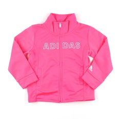 Adidas for girls, track jacket for girls, pink jacket for girls