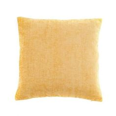 Made with soft chenille fabric complete with a woven texture effect this square cushion comes in warm ochre, featuring a machine washable, removable cover and a plump polyester filling. Cushions On Sofa, Throw Pillows, Chenille Fabric, Soft Furnishings, Cushion Covers, Color Splash, Warm, Collections, Yellow