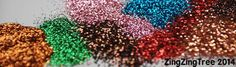 Glitter!... Guide to 50 craft materials