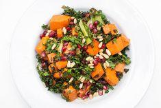 Grønnkålsalat med søtpotet - Vegetarbloggen Risotto, Vegetarian Recipes, Ethnic Recipes, Food, Mars, Essen, Meals, Yemek, Eten