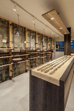muura design work archive : SHOT BRAIN / eyewear showroom / interior design 2016.1 / Osaka Japan
