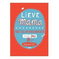 Nog ruim een week voor moederdag dus precies op tijd om dit boekje in te vullen! Grappige vragen om als kind in te vullen. Ook leuk om te geven en dan samen met mama in te vullen! #moederdag #scheurenkleur #lievemama #mama #invulboek #fb #pin