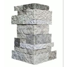 AirStone Scces Spring Creek ft Outside Corner/Finished End Stone Veneer Trim, Grey Decorating Blogs, Interior Decorating, Interior Design, Airstone Fireplace, Fireplaces, Fireplace Remodel, Faux Stone Veneer, Diy Exterior Stone Veneer, Exterior Siding