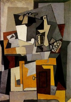 "Pablo Picasso - ""Still life with a key"". 1920"