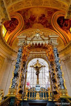 Chapel of Saint Louis des Invalides~ Paris