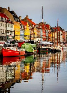 Nyhavn, Copenhagen - This summer we'll visit here as we sail on Regal Princess to the Baltic.