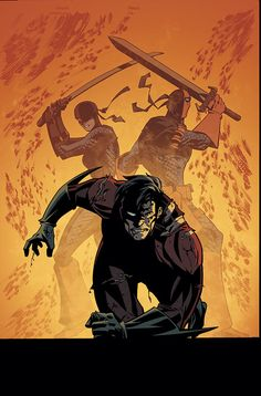 NIGHTWING #116 Art and cover by Phil Hester & Ande Parks