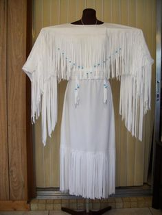 Traditional Native Wedding Dresses | Deer Speaks Softly Designs - Native American Style Wedding Dresses