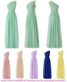 Dresstells® One-shoulder Bridesmaid Dress Prom Dress Evening Gowns