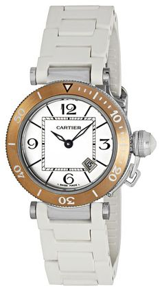 Cartier Pasha Seatimer Ladies Watch W3140001  $4,489.50