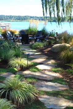 Kirkland Waterfront traditional landscape