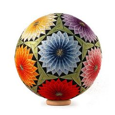 Temari - lovely examples on this flickr site - images only (AC) *