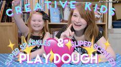 Creative Kids - Super Sparkles & Super Scented Play Dough - Recipe! - YouTube