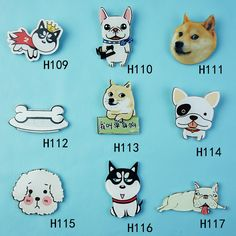 1PC Cute Animals Cartoon Dog Pet Icon Badge Kids Toy Acrylic Brooch Christmas Children Pins Birthday Gift For Bag Clothes #clothing,#shoes,#jewelry,#women,#men,#hats,#watches,#belts,#fashion,#style