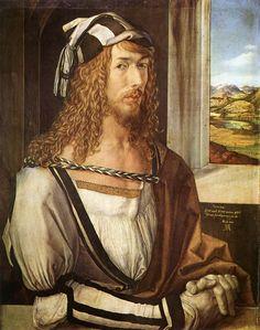 Autoportrait, Albrecht Dürer, 1500, Musée du Prado, Madrid