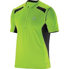Salomon Ultra Trail Tee - Men's Granny Green / Black Large *** Find out more about the great product at the image link.