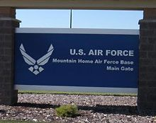 Mountain Home AFB Idaho.