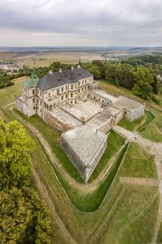 Pidhirtsi Castle - a fortified Renaissance palace in the Lviv region, Ukraine