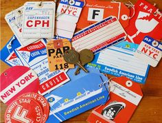 Camilla Engman 's upcoming book (at the printer, available for preorder !) is part of The Suitcase. Cruise Tips, Cruise Vacation, American Cruises, Vintage Luggage Tags, American Line, Cruise Fashion, Window Display Design, Travel Tags, Hand Drawn Type