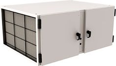 This is a Model 700 ambient air cleaner that doesn't require expensive ductwork or make-up air to remove renegade pollutants from the air. It works well in restaurants, labs and athletic facilities. We introduced it in December 2013