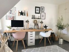 Home Office Design, Home Office Decor, Simplicity Sofas, Small Home Office Furniture, Rustic Sofa, Sofa Tables, Best Sofa, White Decor, House Styles