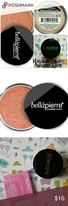 Bellapierre Cosmetics Mineral Shimmering Bronzer Bellapierre Cosmetics Mineral Blush in Autumn Glow. New no box. Full Size! Bonus Coastal Scents Blush and Bronzer Travel Size Sample.  Please let me know if you have any questions. 30% discount when using the bundle feature. No trades! Bellapierre  Makeup Bronzer