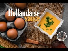 Delicious sauce is great with grilled meat, fish or chicken. Recipe from scratch, from Creative kitchen. Hollandaise Sauce, Recipe From Scratch, Grilled Meat, Channel, Fruit, Breakfast, Creative, Kitchen, Youtube