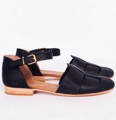Shoes I want #Flats #Black (Darkblue*)