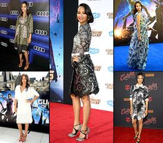 Zoe Saldana is absolutely beautiful! Check out this mom-to be's maternity fashions.