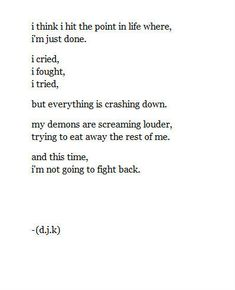 Image result for poem about suicidal