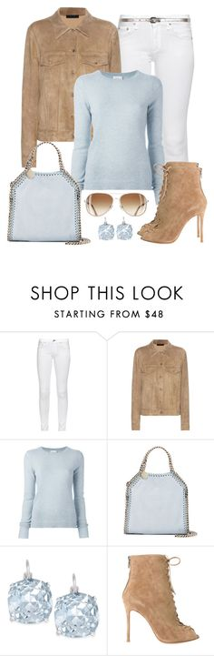 """Untitled #1287"" by gallant81 ❤ liked on Polyvore featuring rag & bone, The Row, Le Kasha, STELLA McCARTNEY, Dorothy Perkins, Kate Spade and Gianvito Rossi"