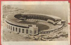 CLEVELAND Lakefront Stadium under construction early 1930's