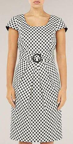 Precis Petite Spot Print Shift Dress