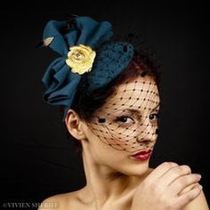 accessorise with a fancy hat to top off your dress