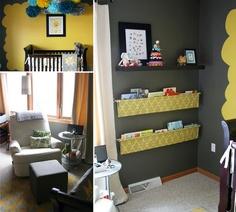 Organize kid room. LOVE the Book Holders!
