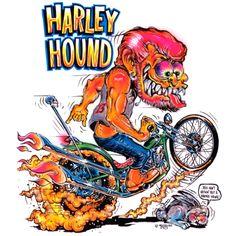 Harley Hound - Ed Roth