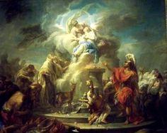 Gabriel-François Doyen - Le sacrifice d'Iphigénie Gabriel, Saint Barbara, Baroque Art, Academic Art, Portraits, Dutch Artists, 17th Century, Saints, The Past