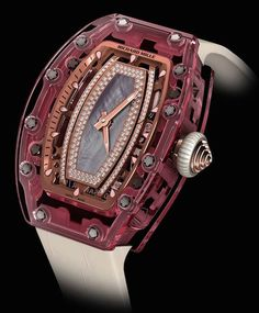 Richard Mille RM 07-02 Pink Lady Sapphire – the million dollar watch for ladies!